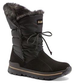 Olang Hupa zwart grijs snowboots dames