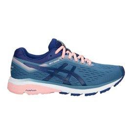 Asics GT 1000 7 blauw roze hardloopschoenen dames