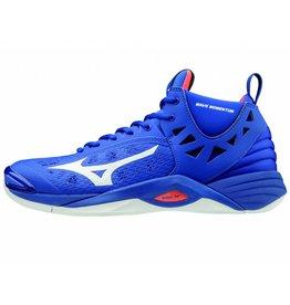 Mizuno Wave Momentum Mid blauw indoor schoenen heren