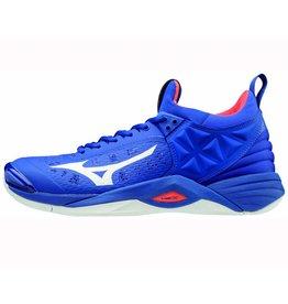 Mizuno Wave Momentum blauw indoor schoenen heren