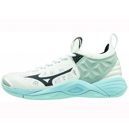 Mizuno Wave Momentum wit indoor schoenen dames