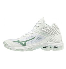 Mizuno Wave Lightning Z5 Mid wit volleybalschoenen dames