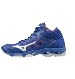 Mizuno Wave Lightning Z5 Mid blauw volleybalschoenen heren