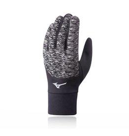 Mizuno windproof Glove hardloophandschoenen zwart