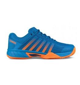 K-Swiss Express light HB oranje blauw heren tennisschoenen
