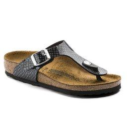 Birkenstock Gizeh Magic Snake zwart narrow slippers meisjes  (S)