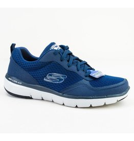 Skechers Flex Advantage 3.0 blauw sneakers heren