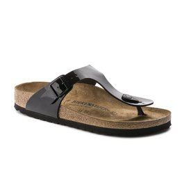 Birkenstock Gizeh Patent zwart lak sandalen dames  (S)