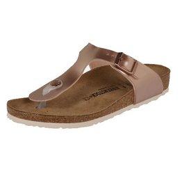 Birkenstock Gizeh Electric Metallic koper narrow sandalen meisjes  (S)