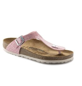 Birkenstock Gizeh Magic Snake roze sandalen dames (S)