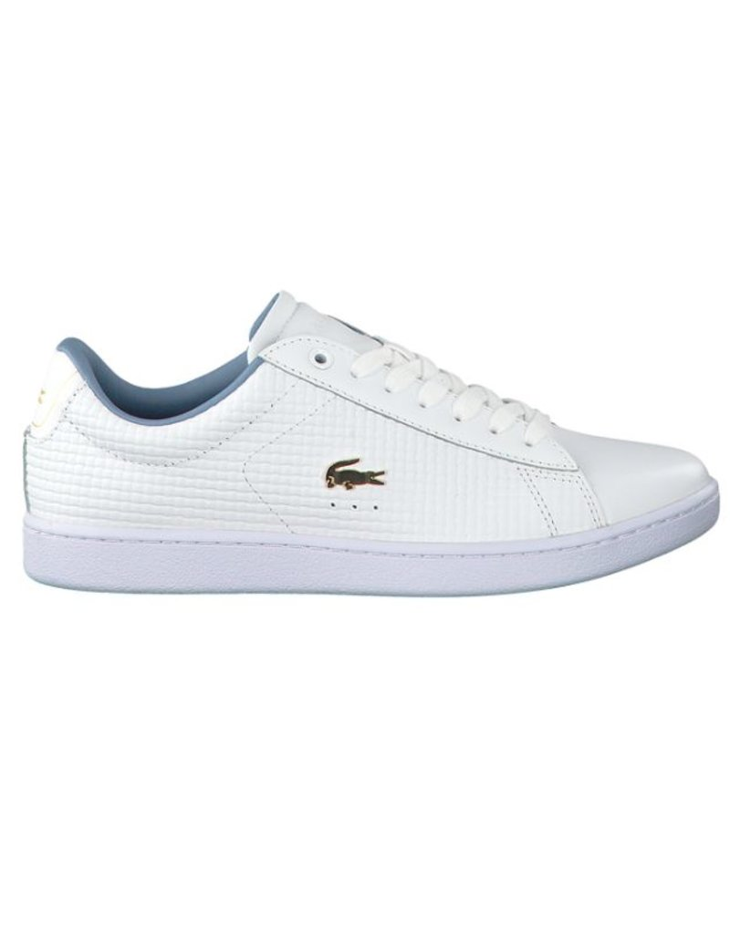 9f998a555454b5 Lacoste Carnaby EVO 118 5 SPW wit sneakers dames (735SPW00121T391 ...