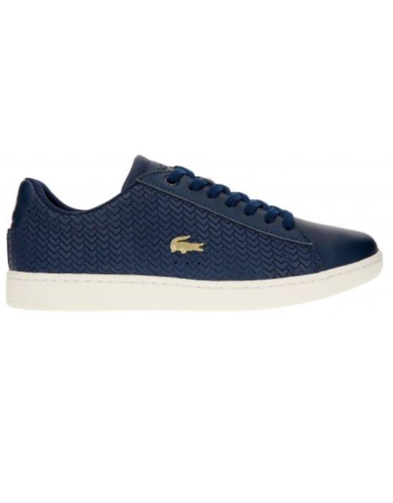 119 Carnaby Lacoste 3 Evo Sfa Dames Blauw 737sfa0013j18 Sneakers vwxpxq