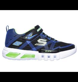 Skechers Flex-Glow zwart blauw sneakers jongens