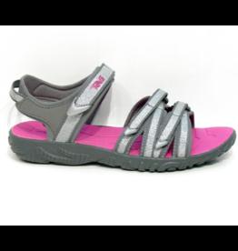 Teva Tirra zilver roze sandalen kids