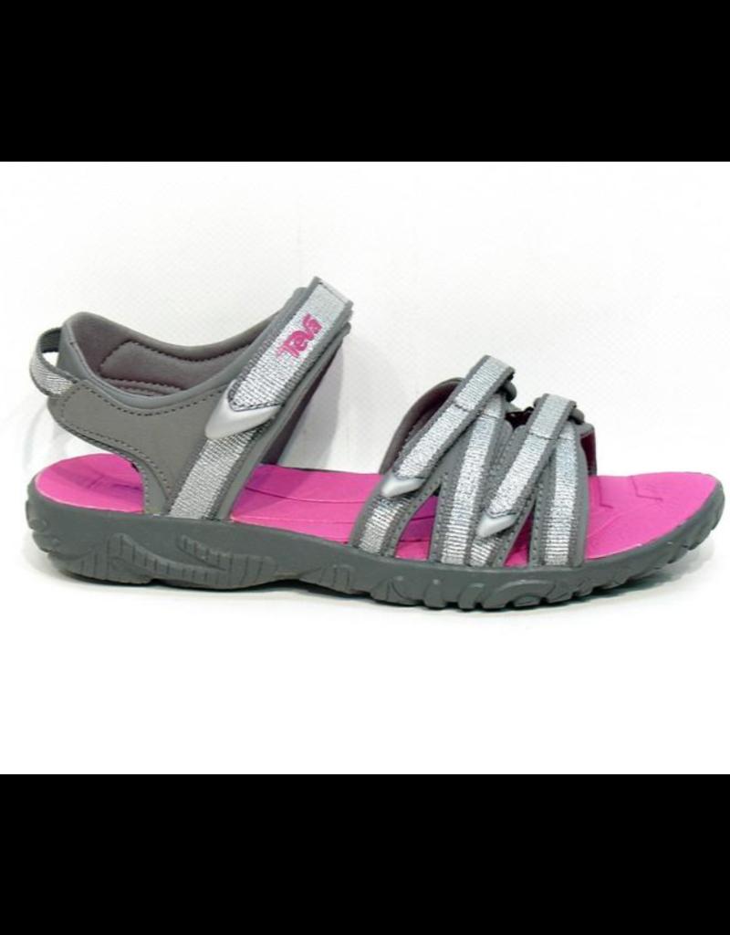 Teva Teva Tirra zilver roze sandalen kids