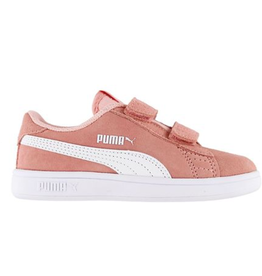 Puma Smash V2 SD V Inf  abrikoos sneakers baby's