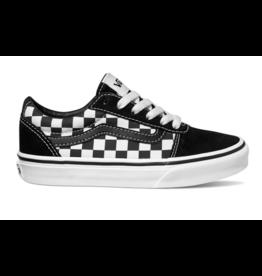 Vans YT Ward zwart wit geblokt sneakers kids