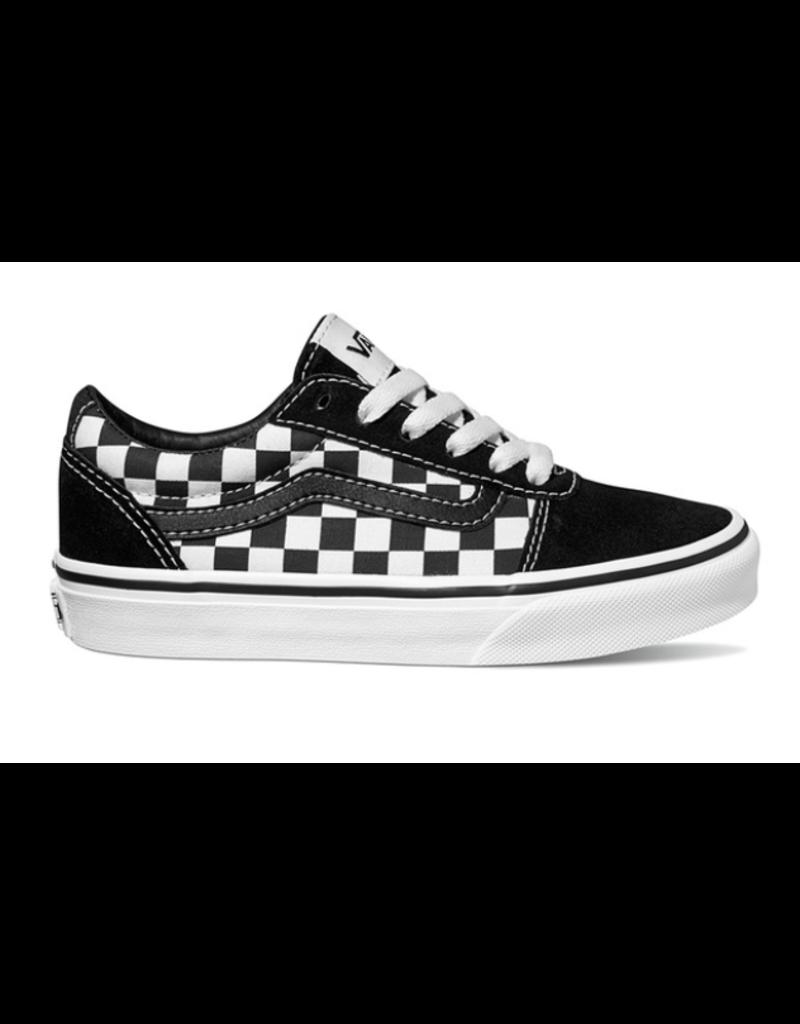 6f98d09c19a Vans YT Ward zwart wit geblokt sneakers kids (VN0A38J9PVJ ...