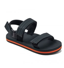 Reef Little AHI Convertible grijs oranje sandalen kids