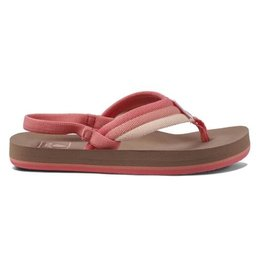 Reef Little AHI Beach Raspberry bruin roze slippers baby's