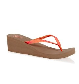 Reef Krystal Star Flame roze slippers dames