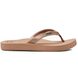 Reef Star Cushion beige slippers dames