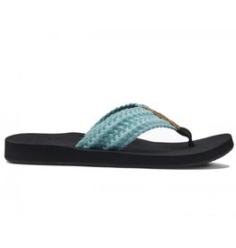 Reef Cushion Threads blauw slippers dames