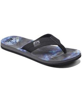 Reef HT Prints zwart blauw slippers heren