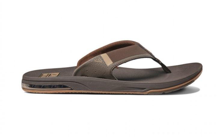 reef fanning low bruin slippers heren (rf0a3kihbro1