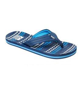 Reef Kids AHI water blue slippers kids