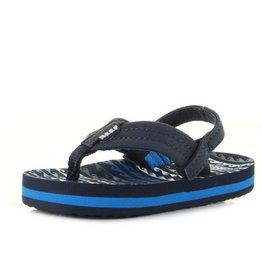 Reef Little AHI water blue slippers kids