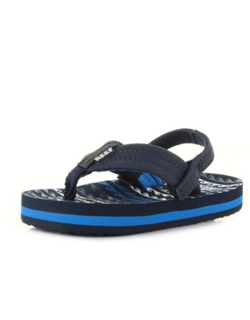 a62c1ef6fac Reef Little AHI water blue slippers kids (RF002345WAB1 ...