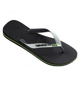 Havaianas Brasil mix zwart wit slippers heren