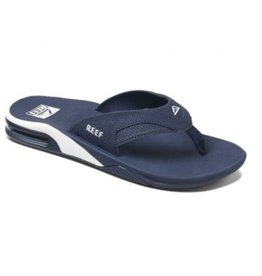 Reef Fanning blauw slippers heren