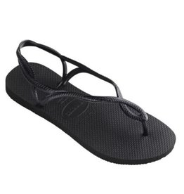 Havaianas Luna sandalen zwart dames