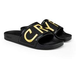 Cruyff Agua Copa zwart goud badslippers unisex