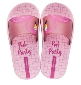 Ipanema urban slide roze badslippers kids