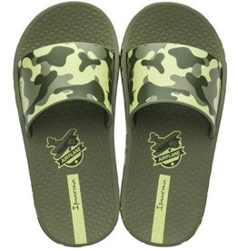Ipanema urban slide groen badslippers kids