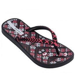 Ipanema Anatomic Lovely zwart roze slippers kids