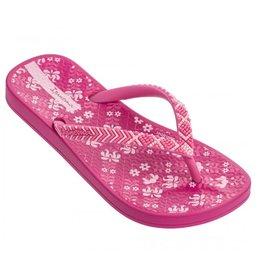 Ipanema Anatomic Lovely roze wit slippers kids