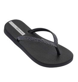Ipanema Lolita zwart glitter slippers meisjes