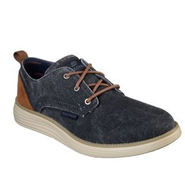 Skechers Status 2.0- Pexton blauw schoenen heren