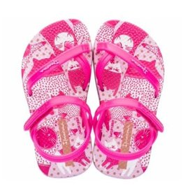 Ipanema Fashion roze wit sandalen baby's