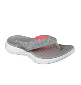 Skechers On-the-go 600 Preferred grijs slippers dames