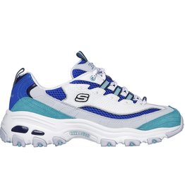 Skechers D'Lites second change blauw sneakers dames