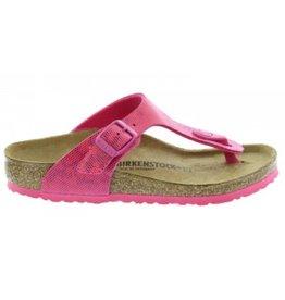 Birkenstock Gizeh Hologram narrow roze sandalen meisjes