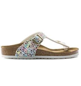Birkenstock Gizeh oriental mosaic wit narrow sandalen meisjes