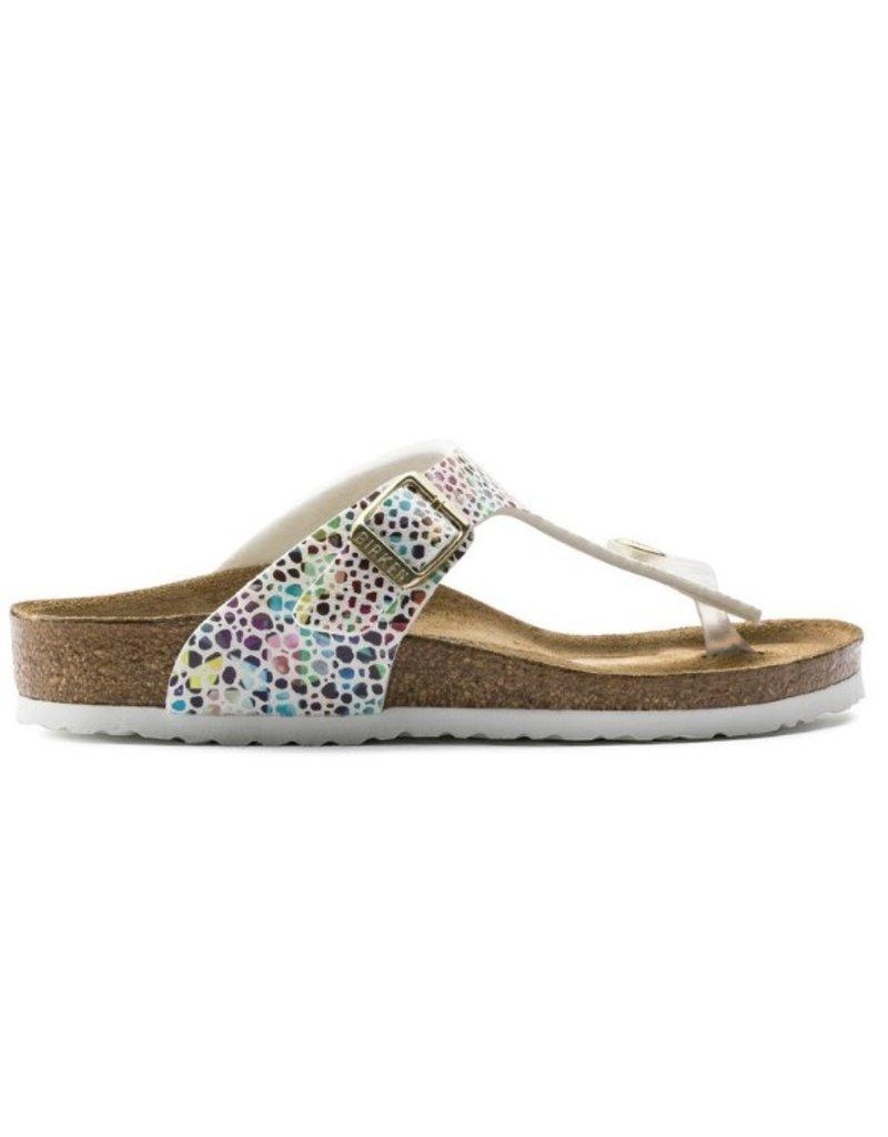 Birkenstock Birkenstock Gizeh oriental mosaic wit narrow sandalen meisjes