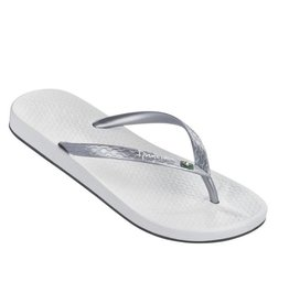 Ipanema Anatomic Brilliant wit zilver slippers dames