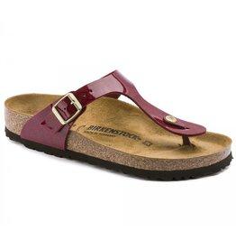 Birkenstock Gizeh Magic Snake bordeaux slippers dames